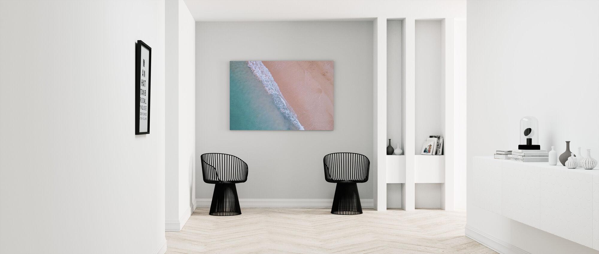 Beach Shoreline - Canvas print - Hallway
