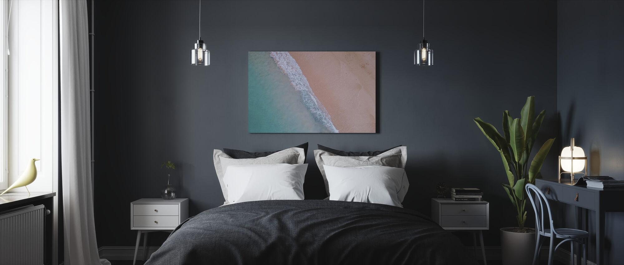 Beach Shoreline - Canvas print - Bedroom