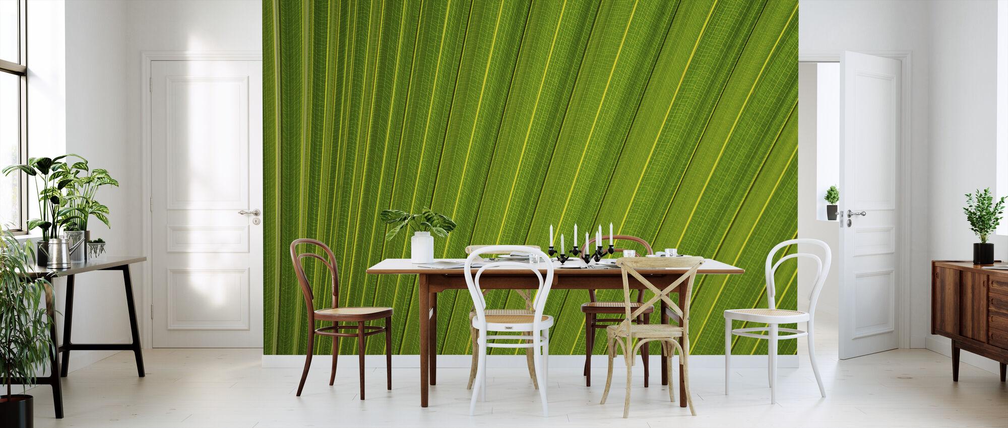Leaf Lines - Wallpaper - Kitchen