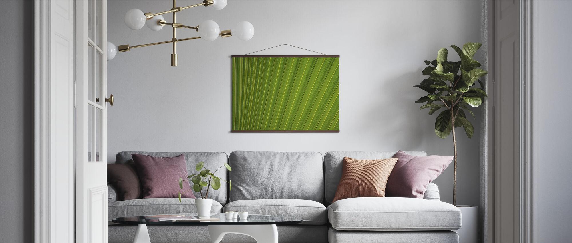 Leaf Lines - Poster - Living Room