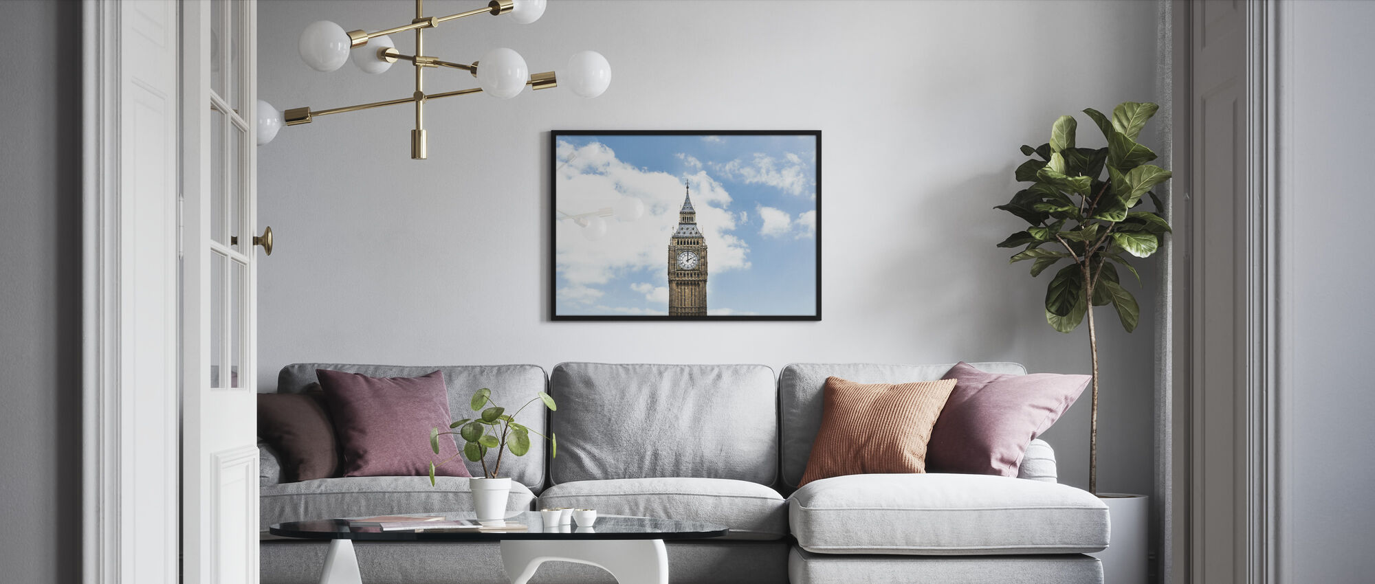 Big Ben - Framed print - Living Room
