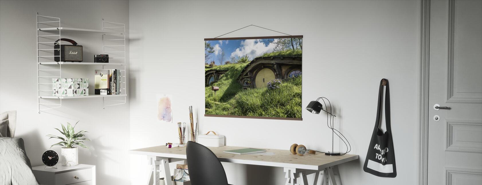Hobbiton Movie House - Poster - Office