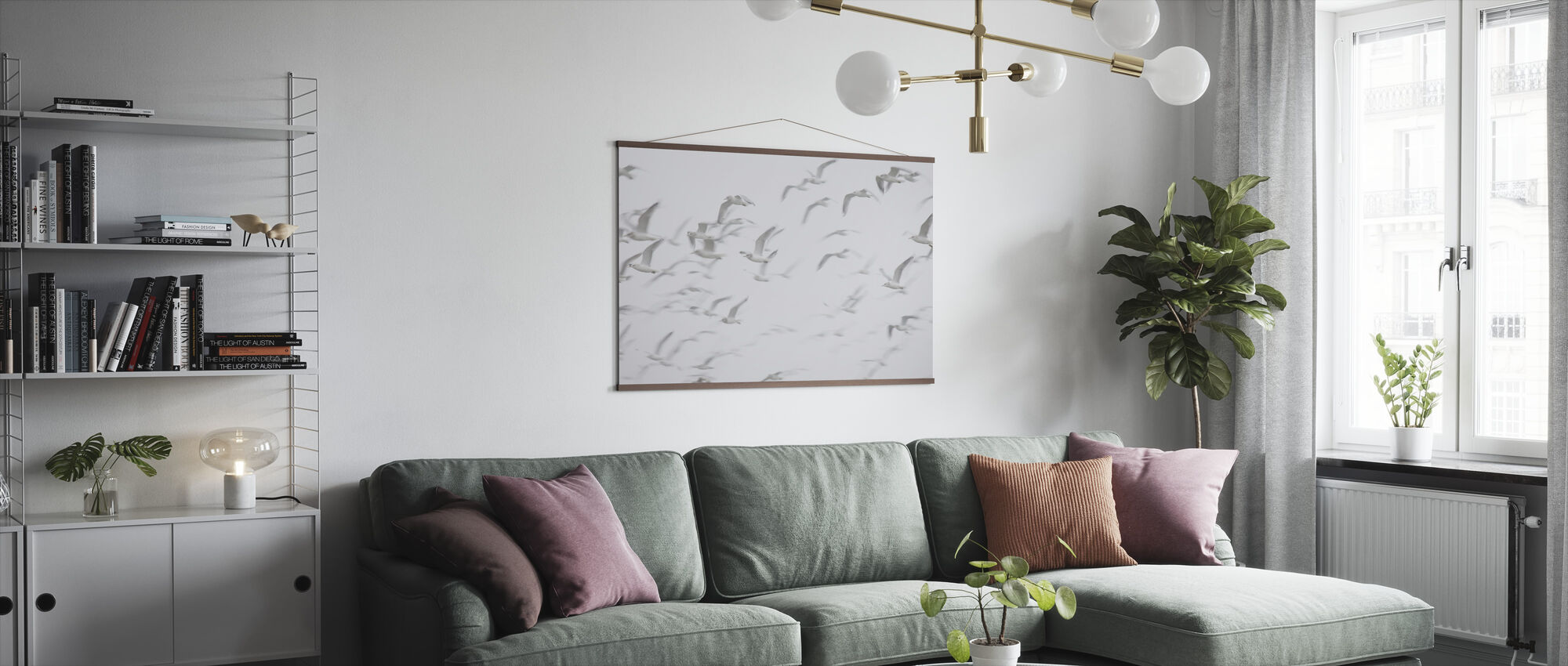Flock of Birds - Poster - Living Room