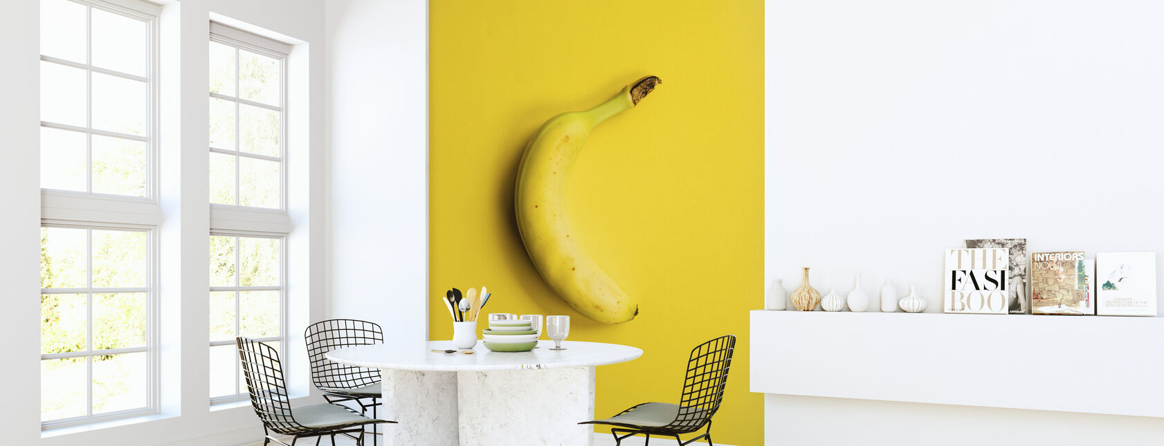 Yellow Banana - Wallpaper - Kitchen