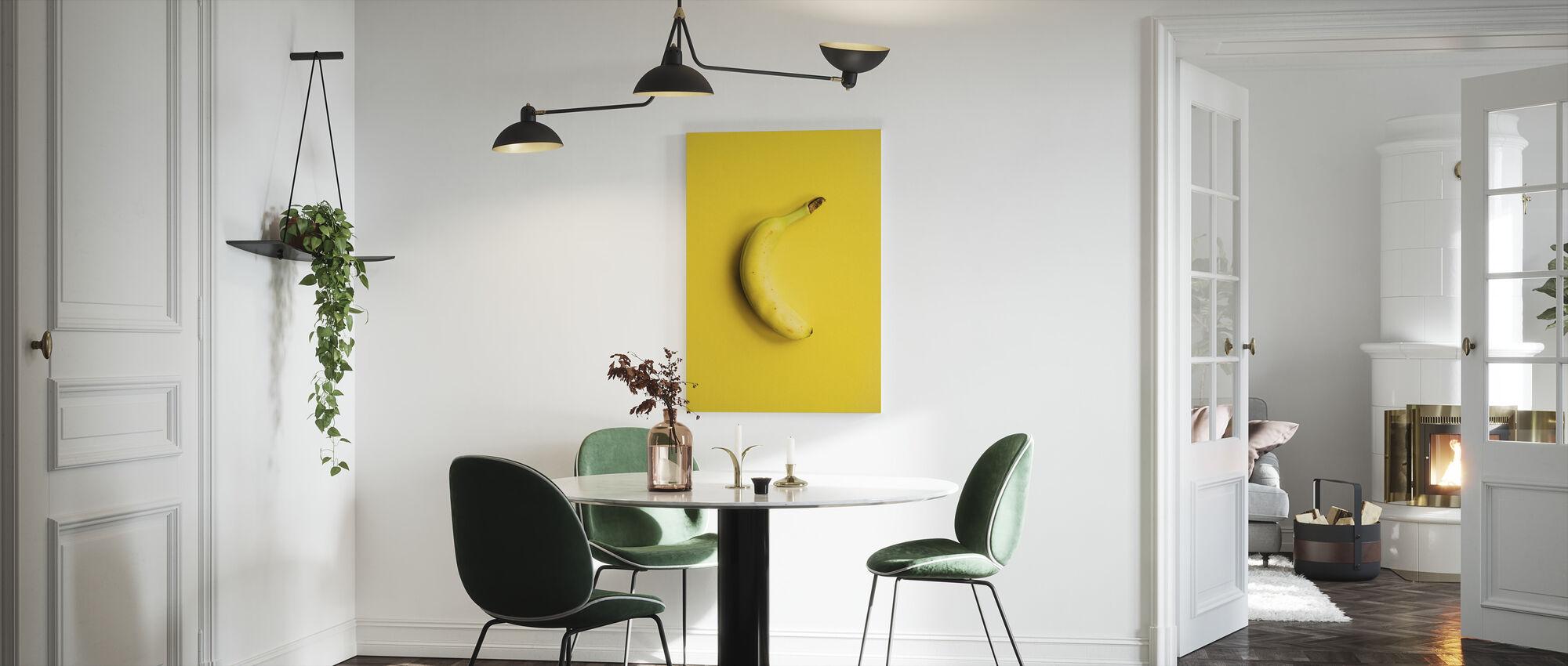 Yellow Banana - Canvas print - Kitchen