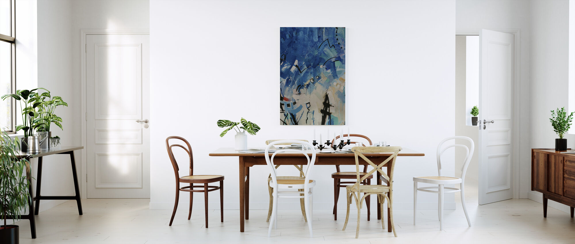 Modern Art Painting - Canvas print - Kitchen