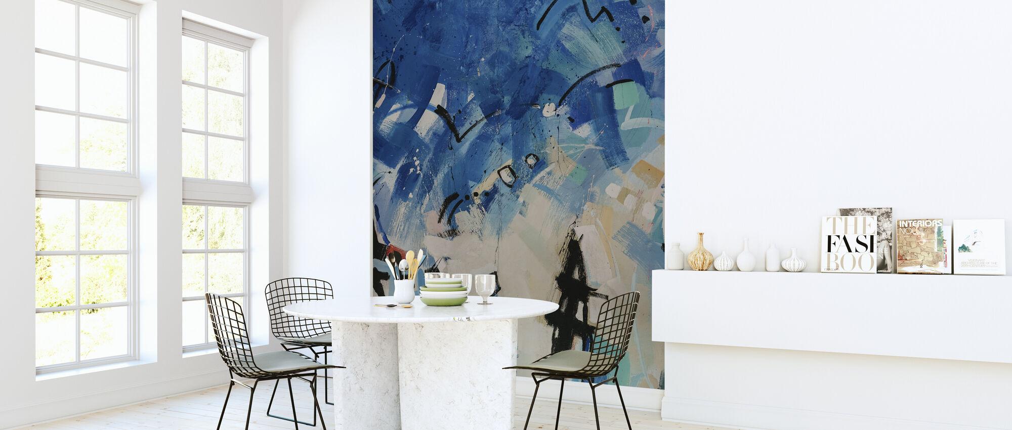 Modern Art Painting - Wallpaper - Kitchen