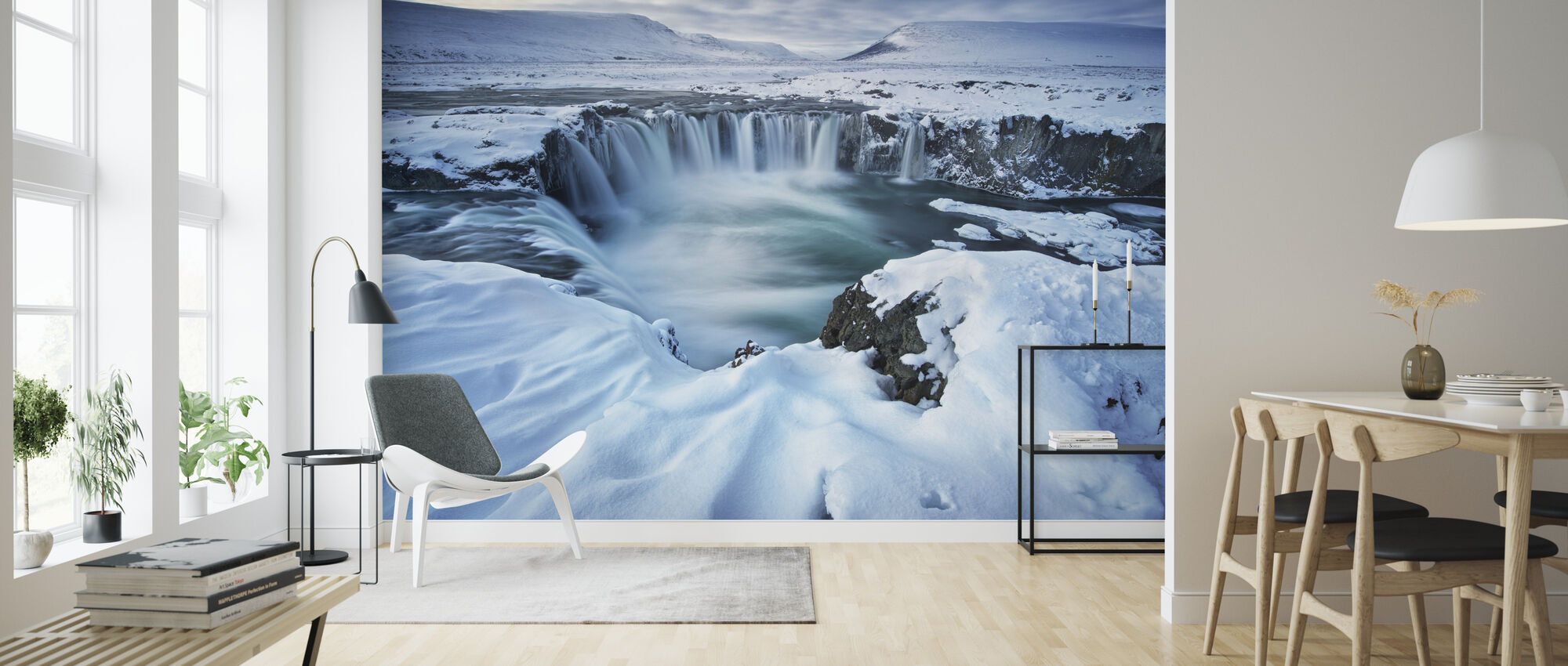 Waterfall of the Gods - Wallpaper - Living Room
