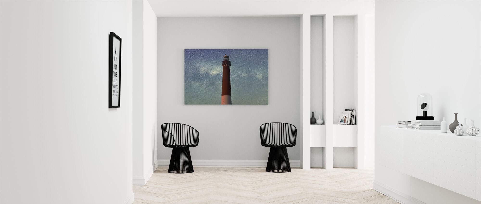 Lighthouse and the Sky - Canvas print - Hallway