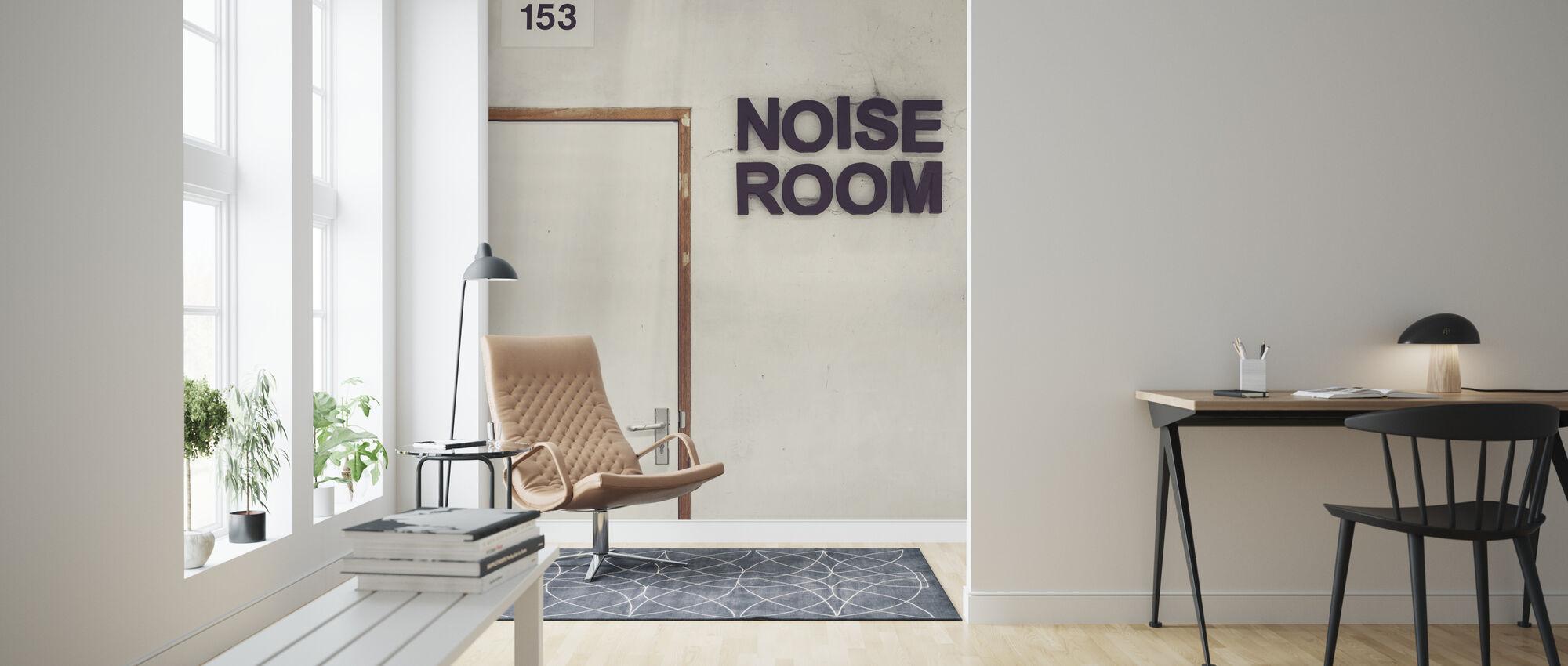 Noise Room Door - Wallpaper - Living Room