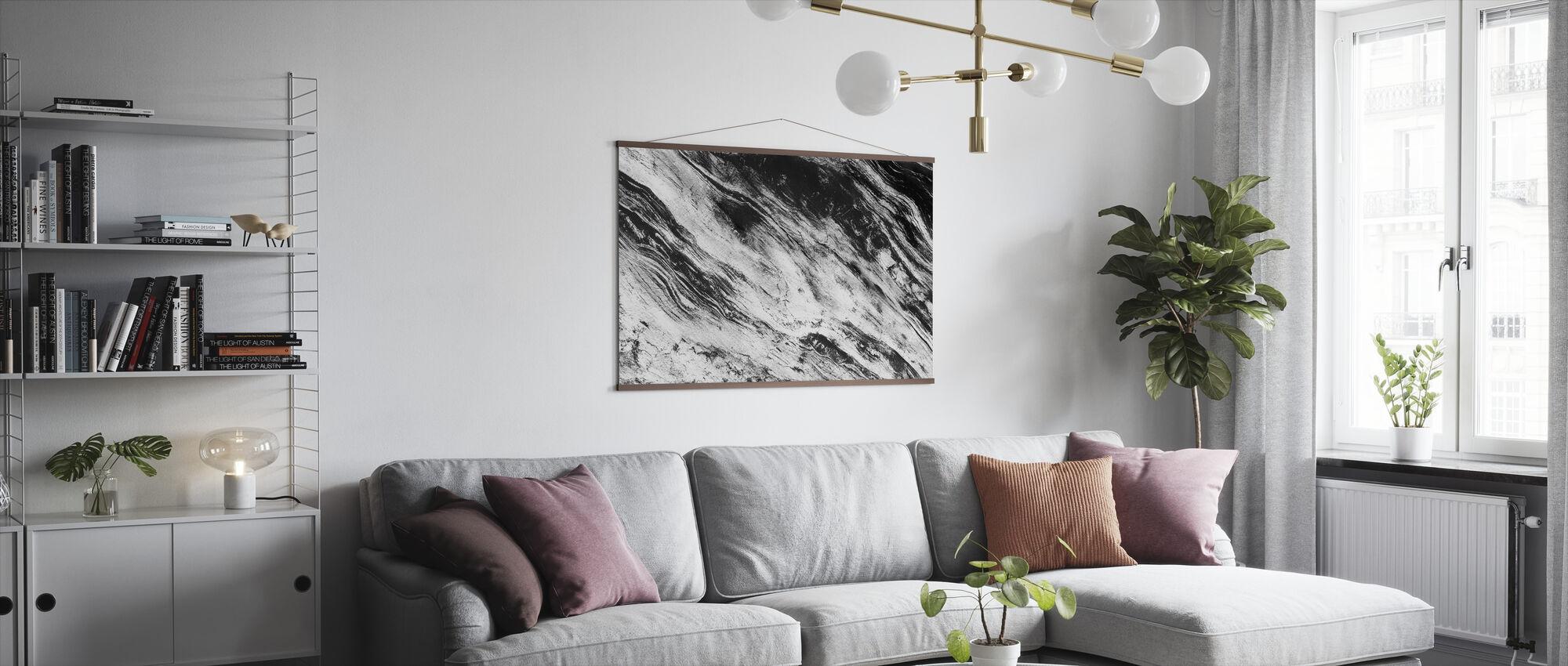 Black and White - Poster - Living Room