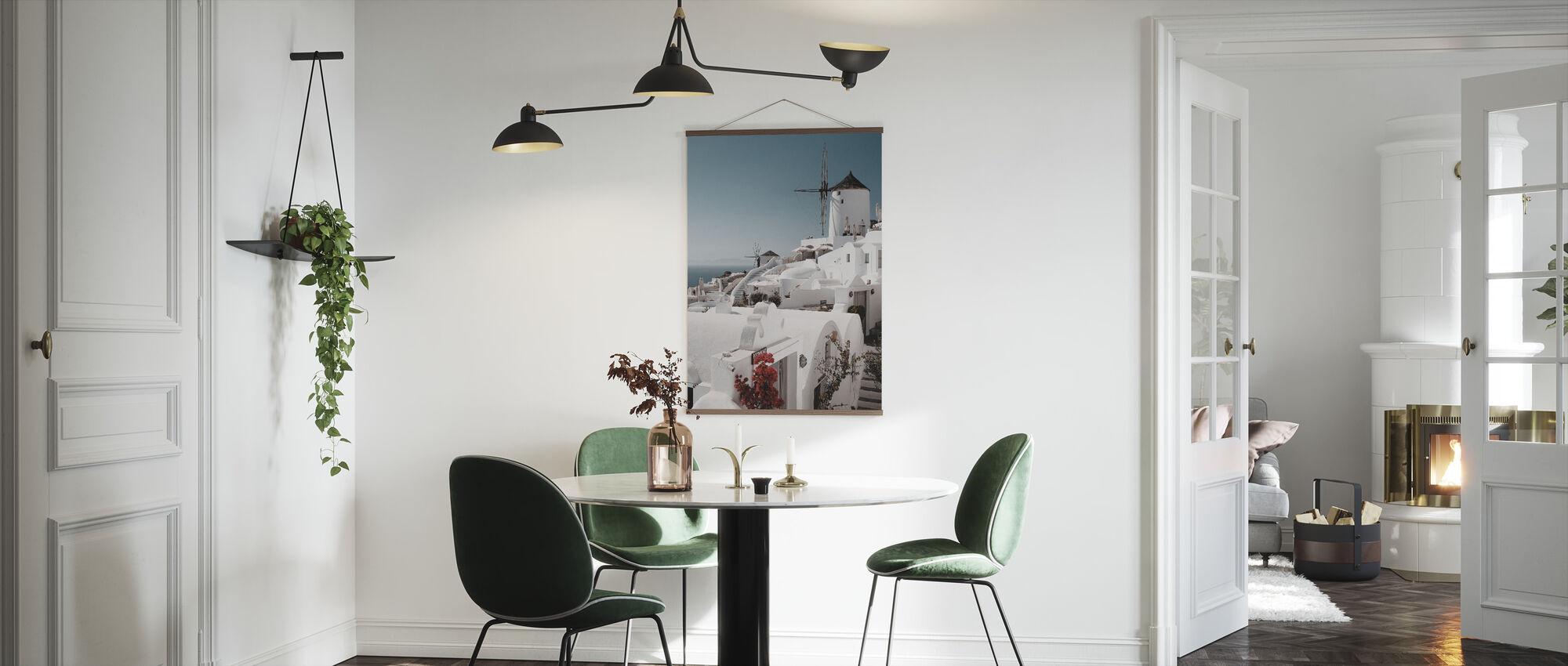 Vit på vitt - Poster - Kök