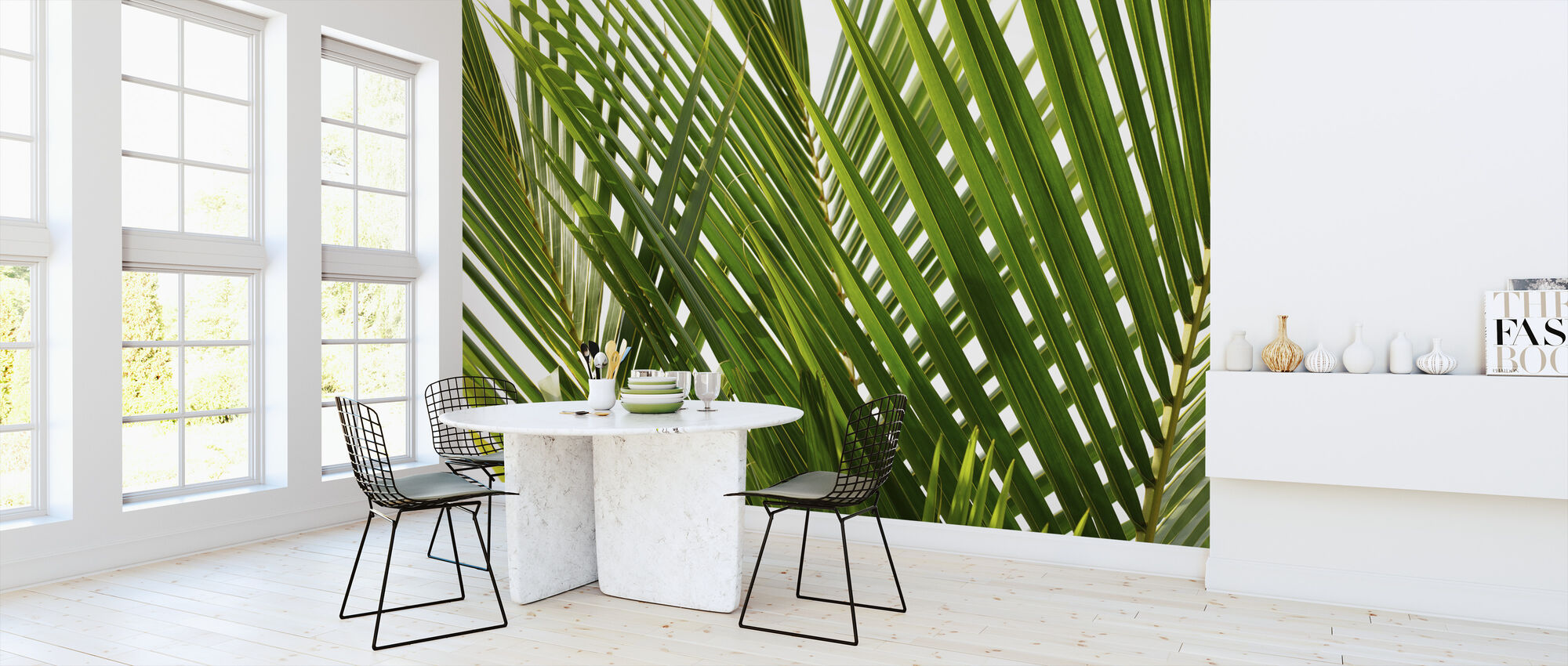 Palm Leaf - Wallpaper - Kitchen