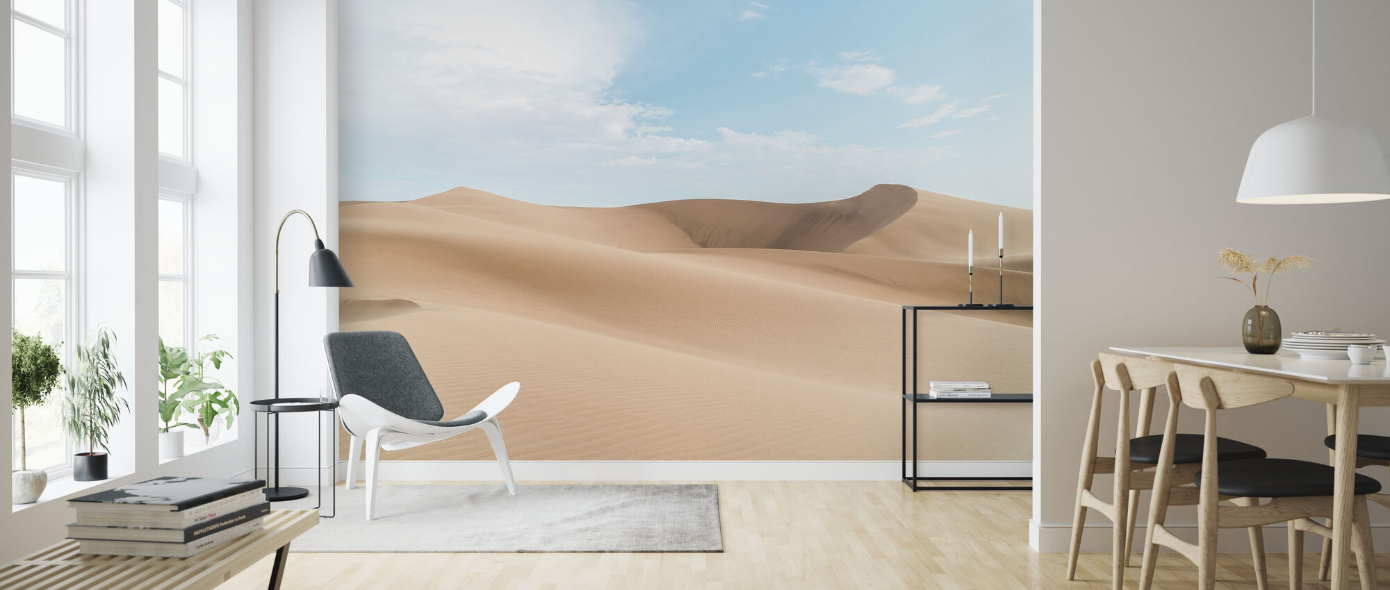 Desert Sand - Wallpaper - Living Room