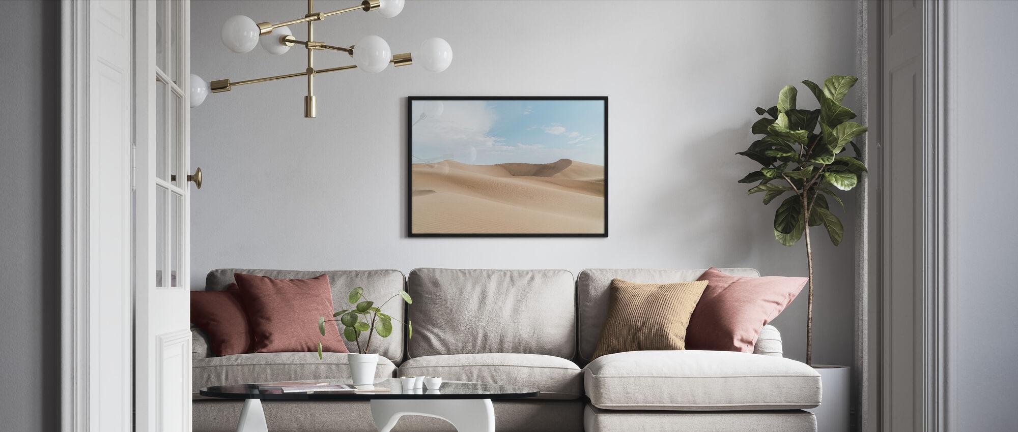 Desert Sand - Framed print - Living Room