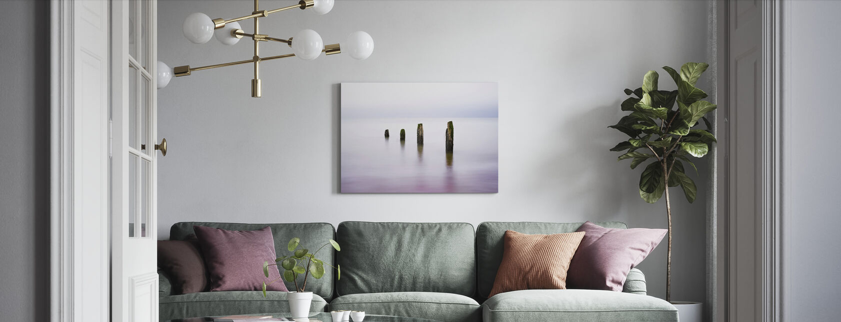 Four Sisters - Canvas print - Living Room