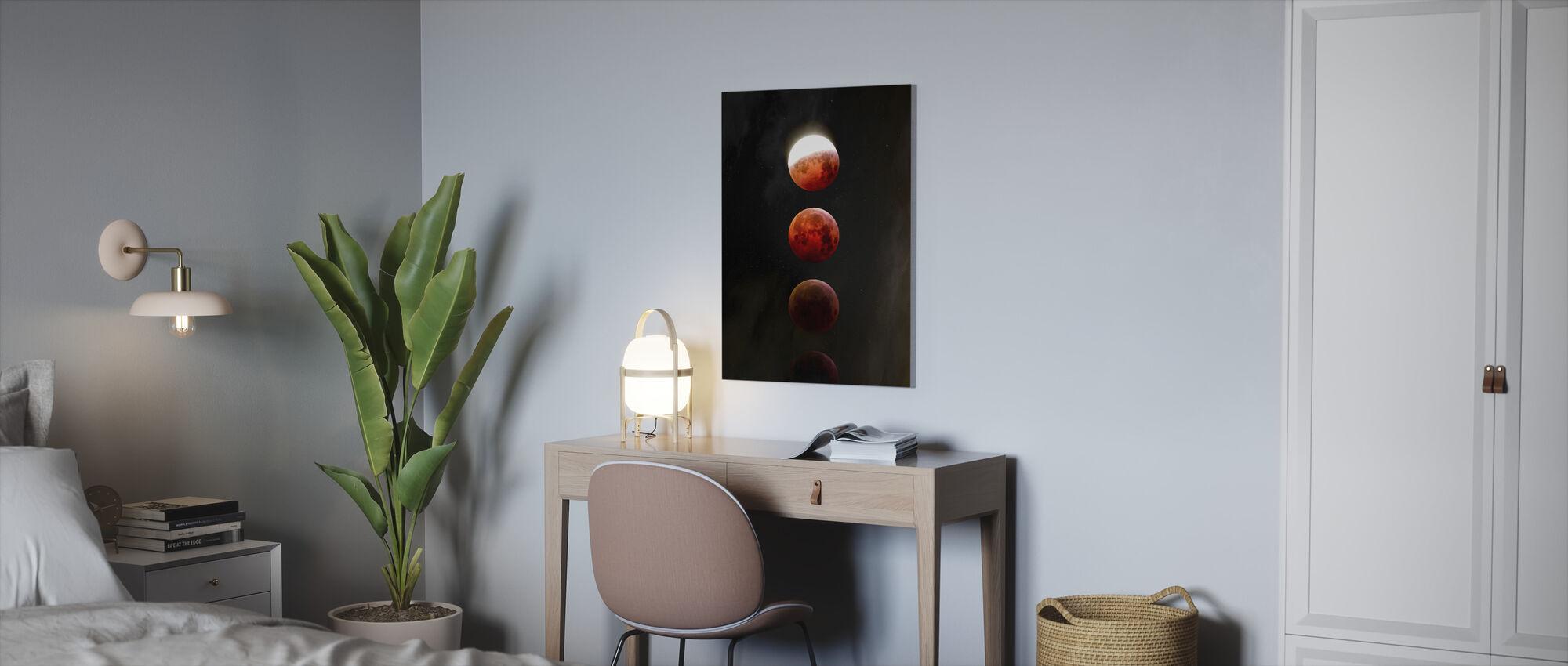 Månförmörkelsen - Canvastavla - Kontor