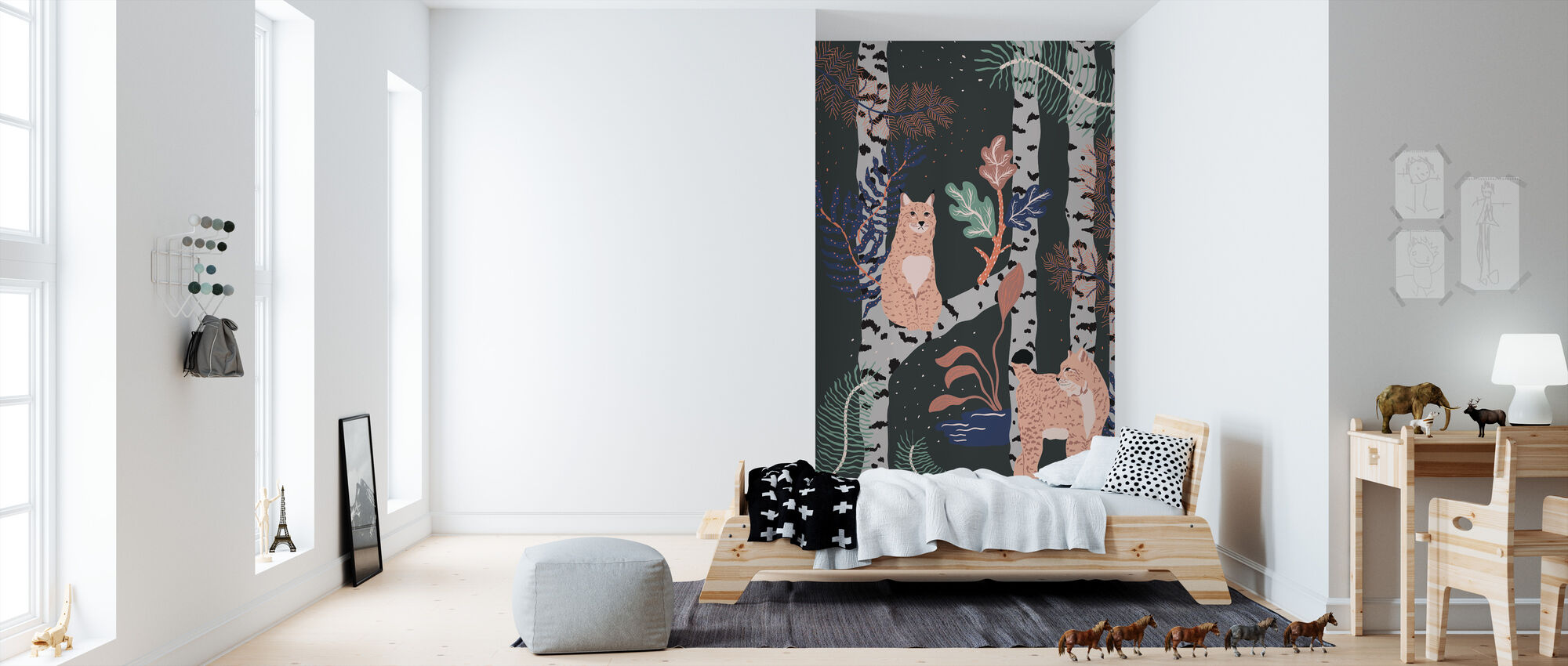 Nordic Jungle - Wallpaper - Kids Room
