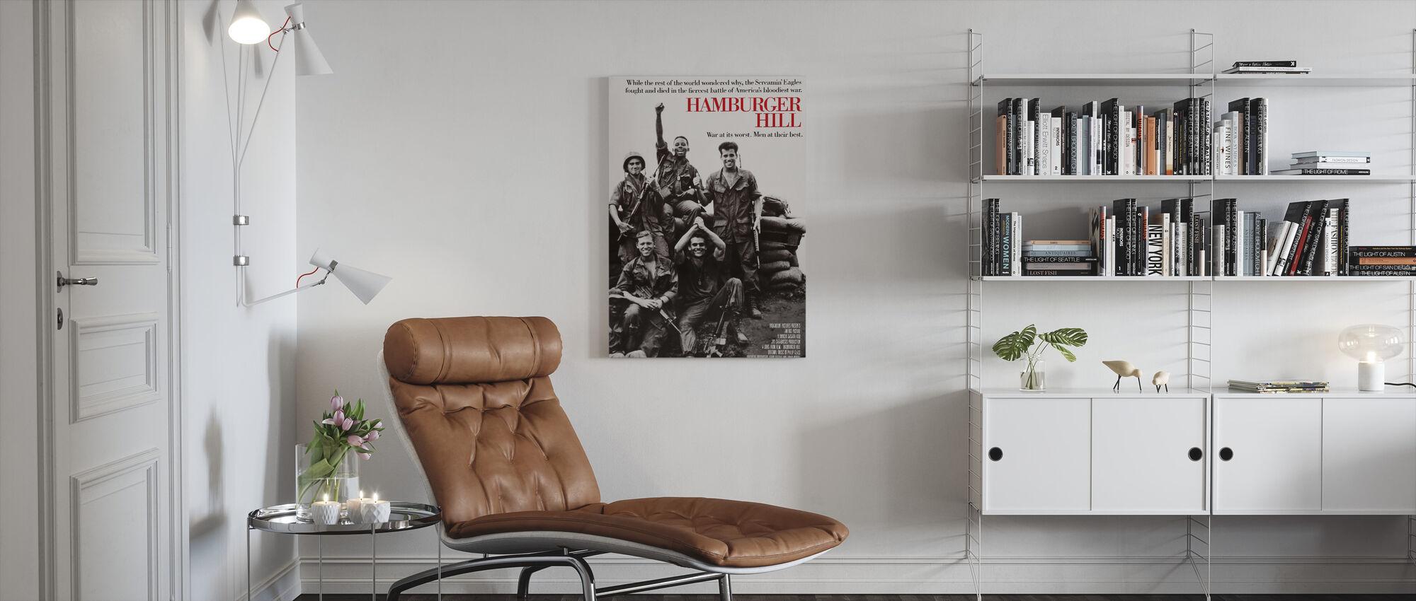 Hamburger Heuvel - Canvas print - Woonkamer