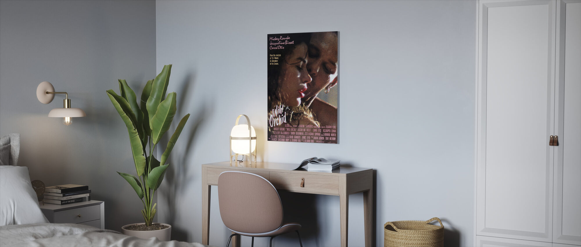 Wild Orchid - Canvas print - Office