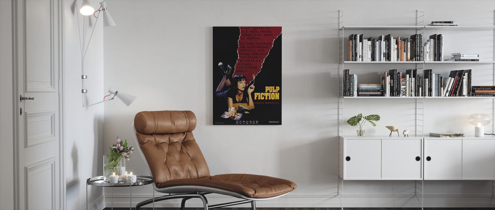 Pulp Fiction - Canvas print - Living Room