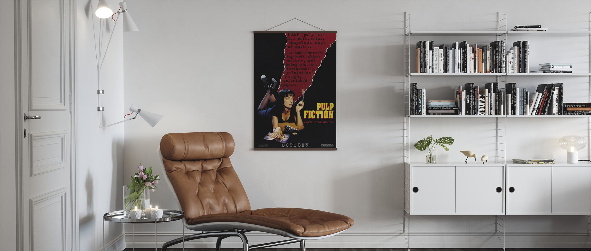 Pulp Fiction - Juliste - Olohuone