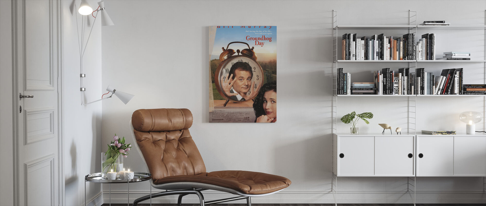 Groundhog Day - Canvas print - Living Room