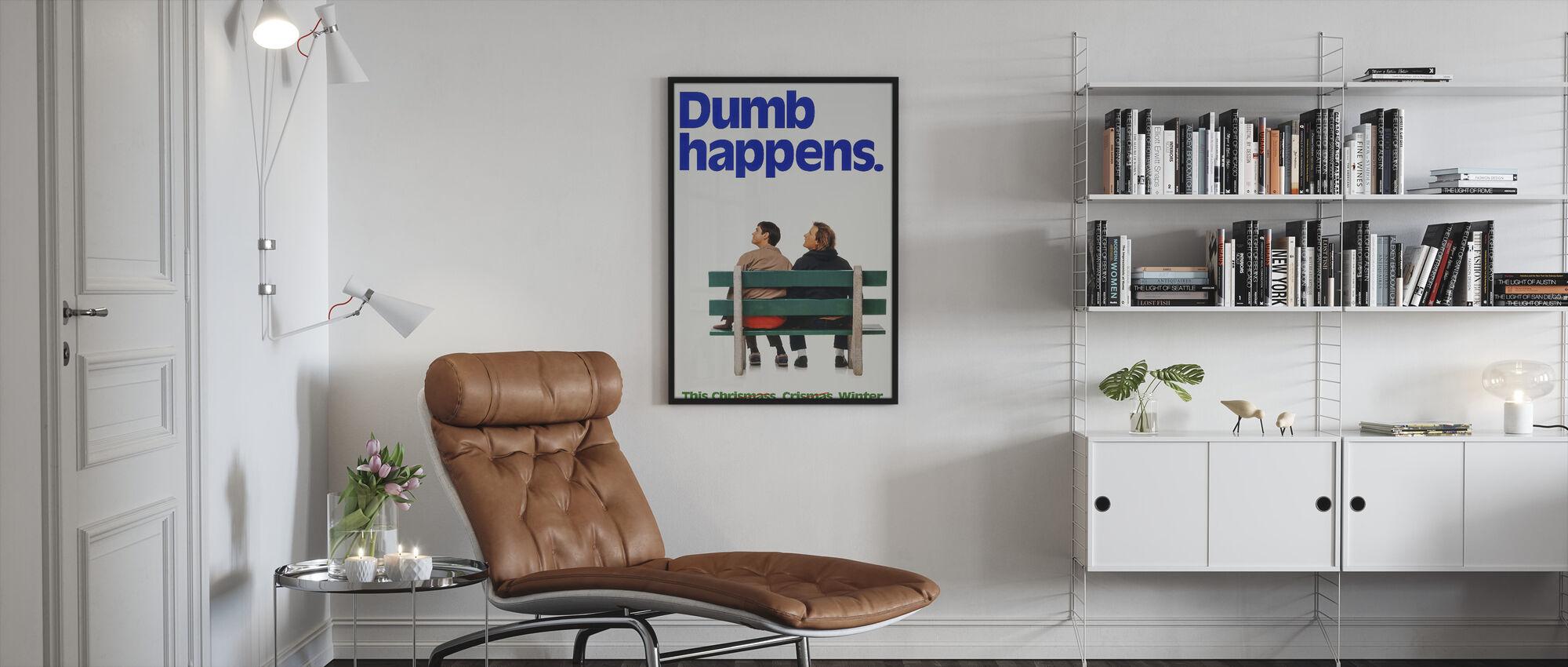 Dumb and Dumber - Framed print - Living Room