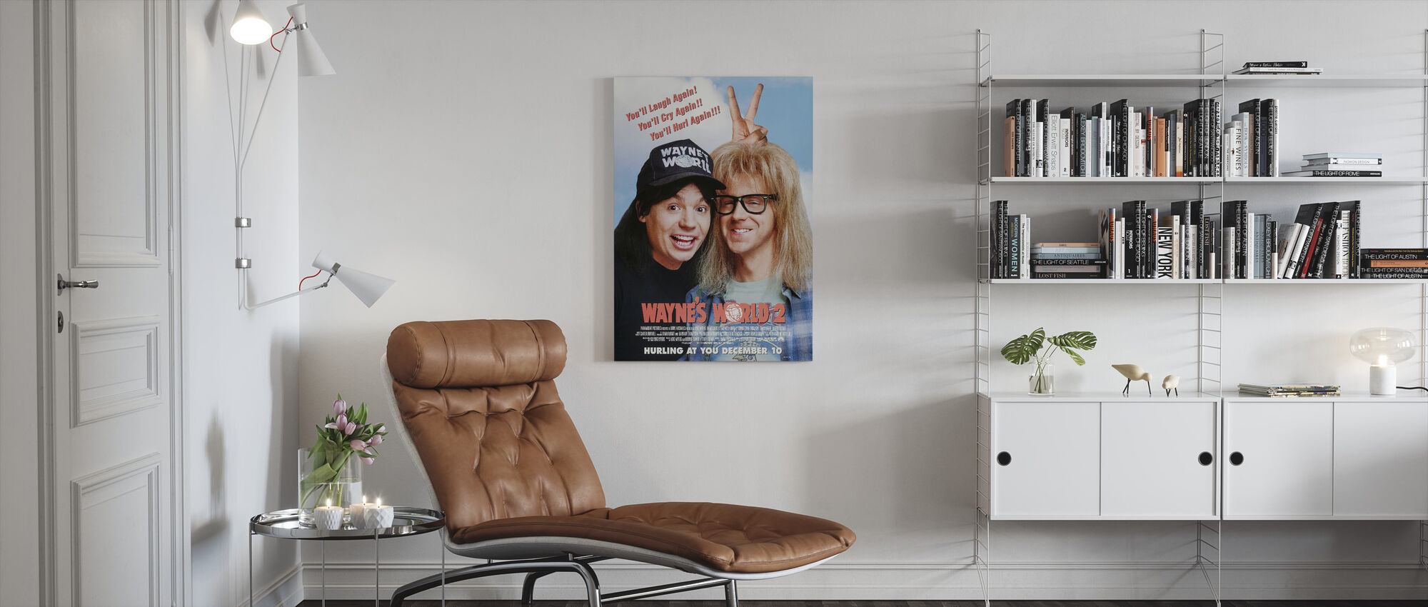 Waynes World 2 - Canvas print - Living Room