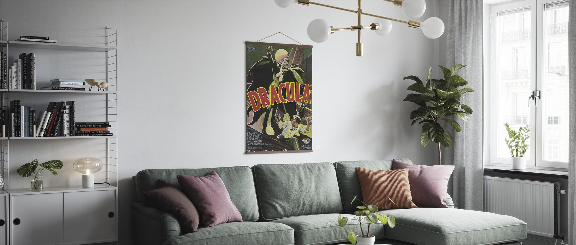Dracula - Poster - Woonkamer