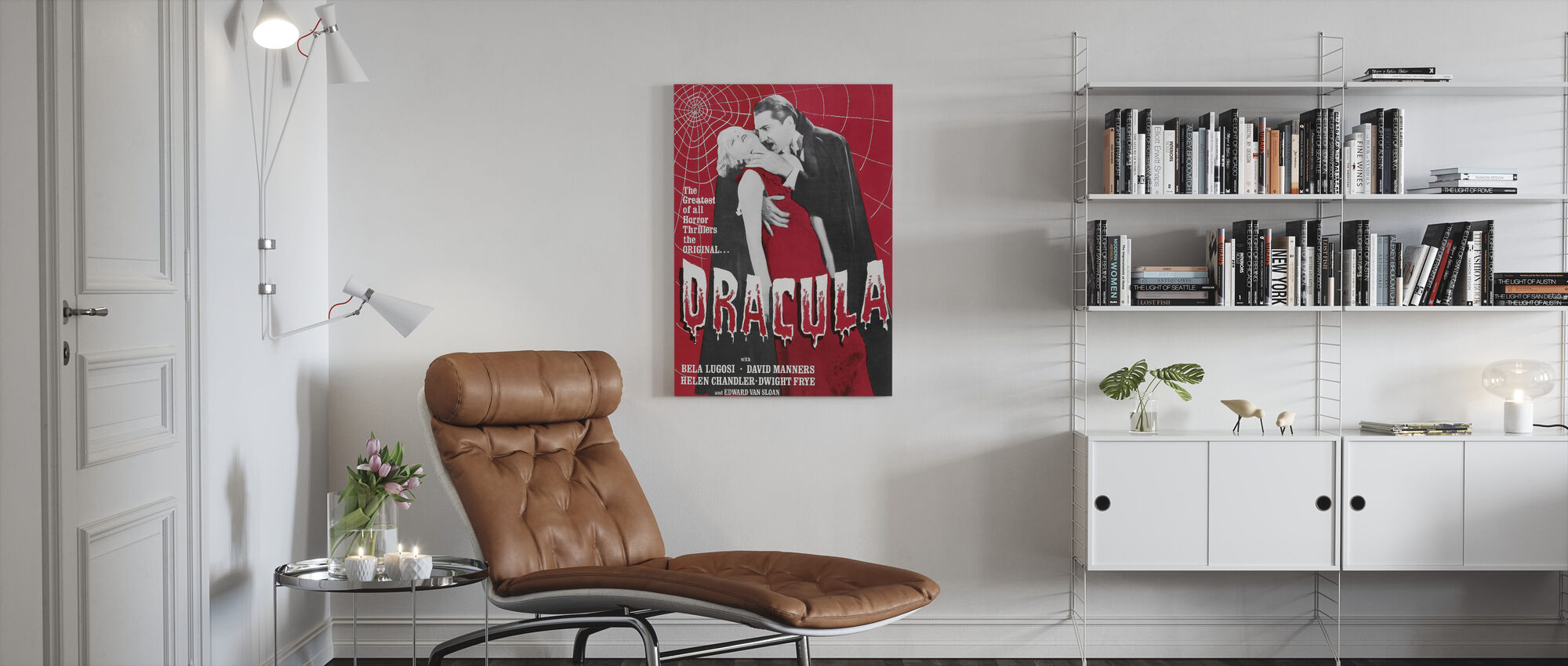 Dracula - Canvas print - Living Room