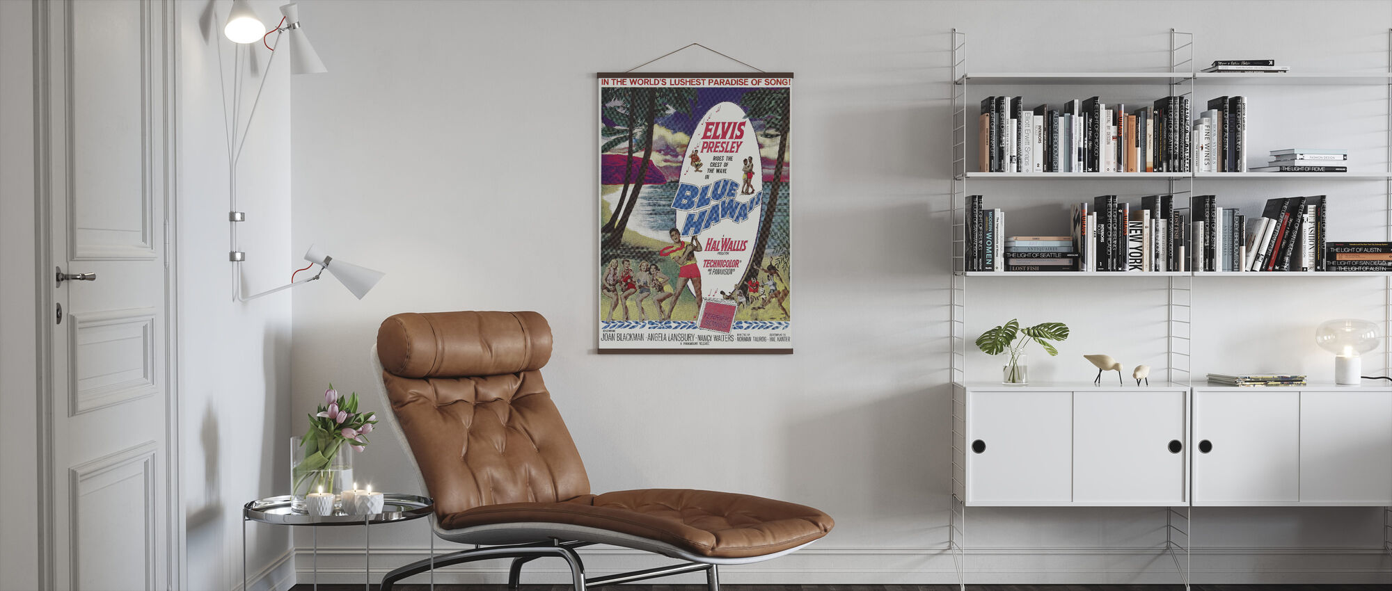 Blue Hawaii - Poster - Living Room