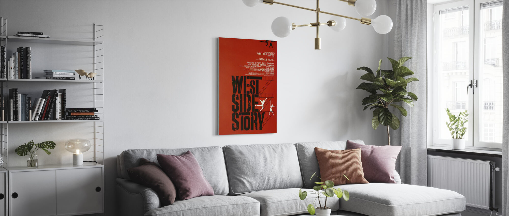 West Side Story - Canvas print - Living Room