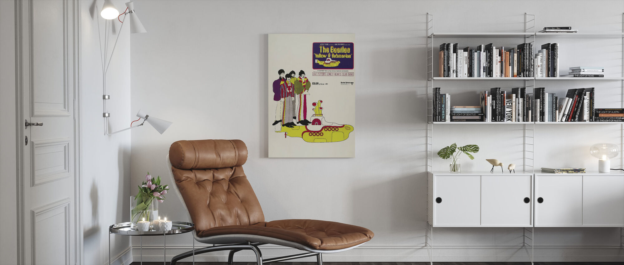 Yellow Submarine - Canvas print - Living Room