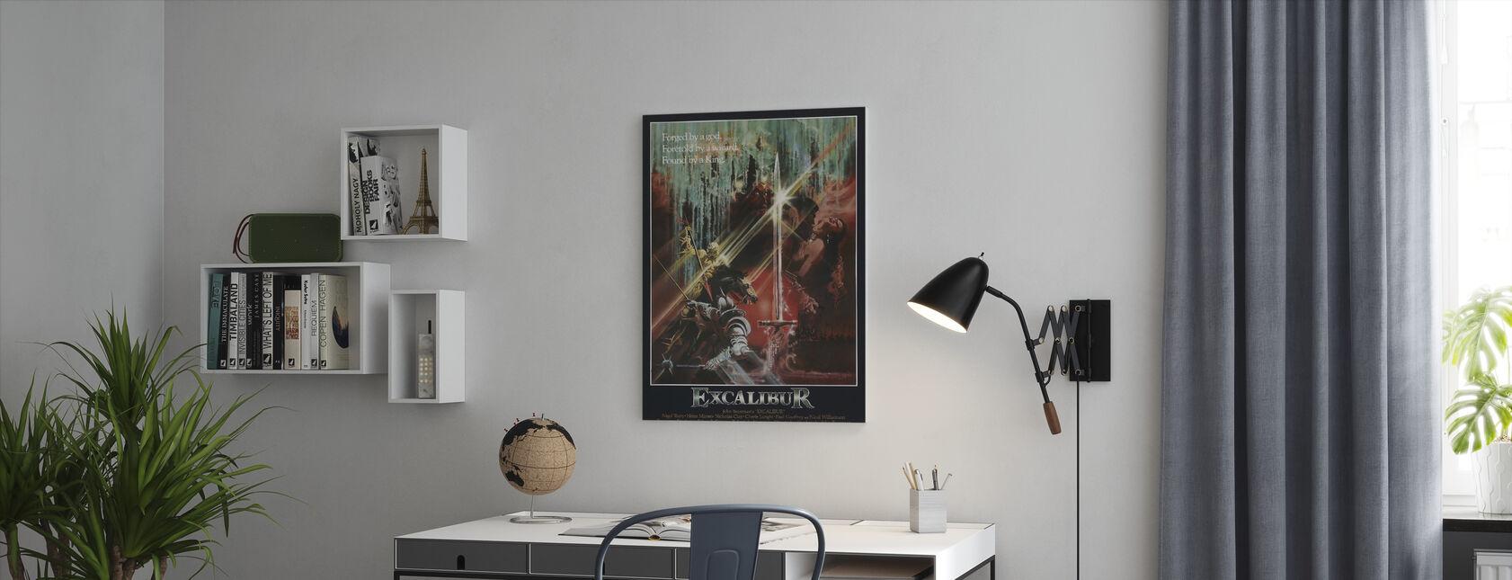 Excalibur - Canvas print - Kantoor