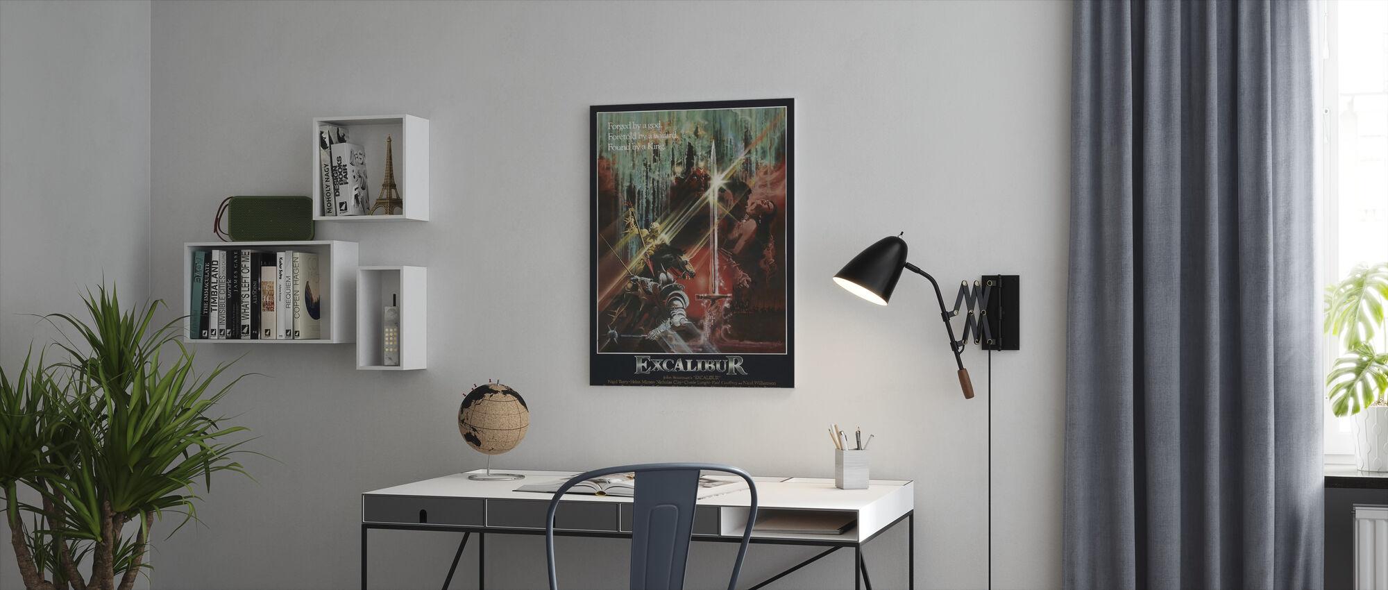 Excalibur - Canvas print - Office