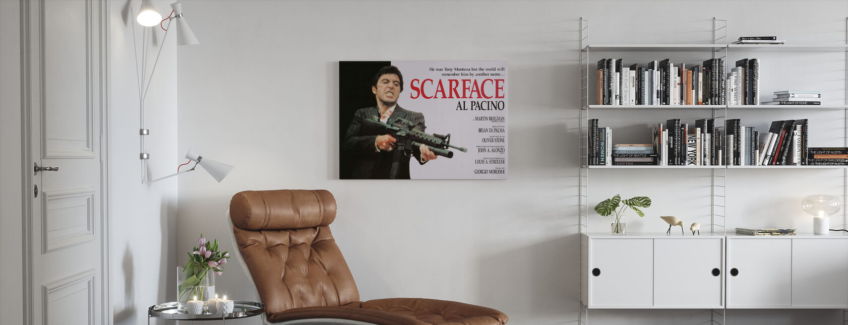 Scarface - Canvas print - Woonkamer