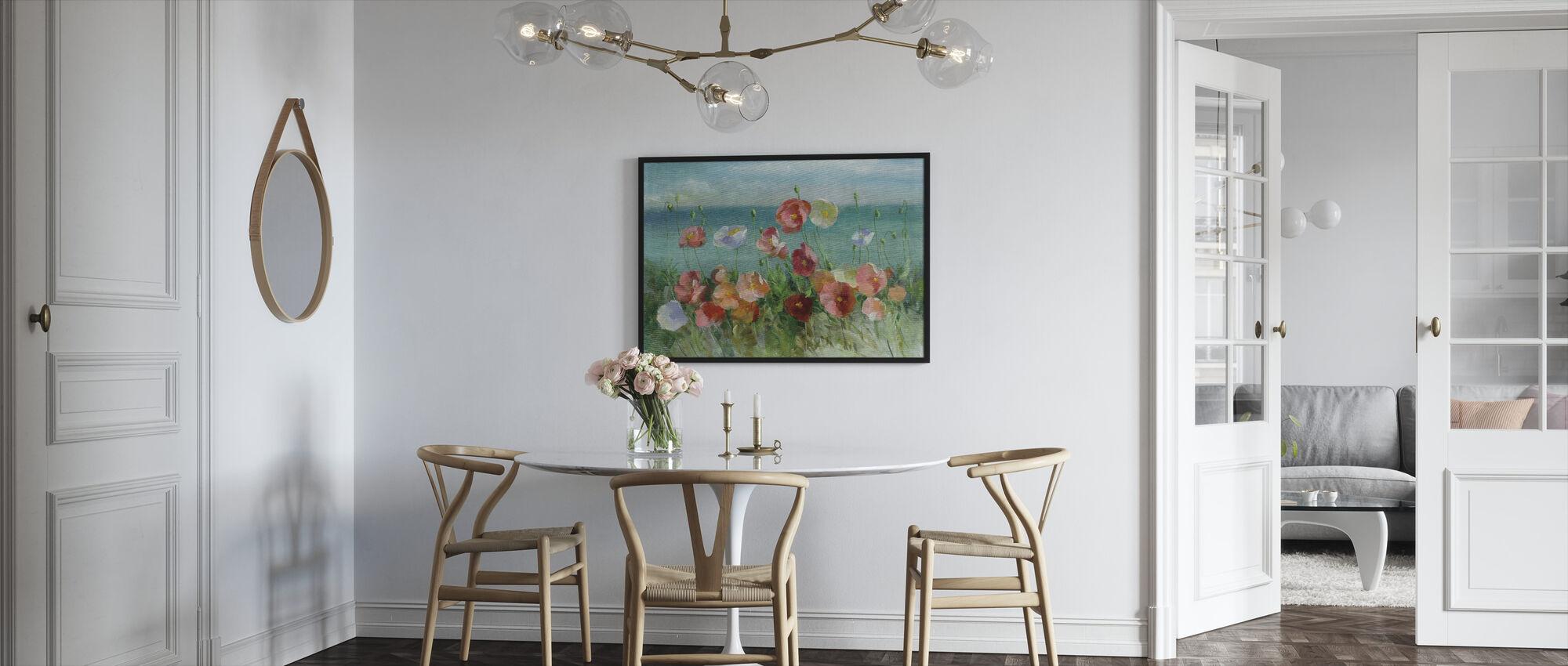 Coastal Poppies - Framed print - Kitchen