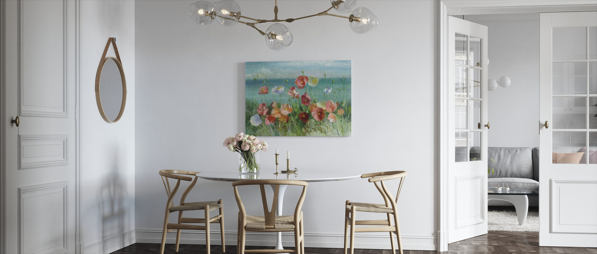 Coastal Poppies - Canvas print - Kitchen