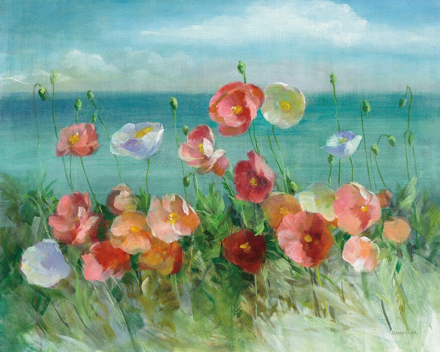 Coastal Poppies A Wall Mural For Every Room Photowall