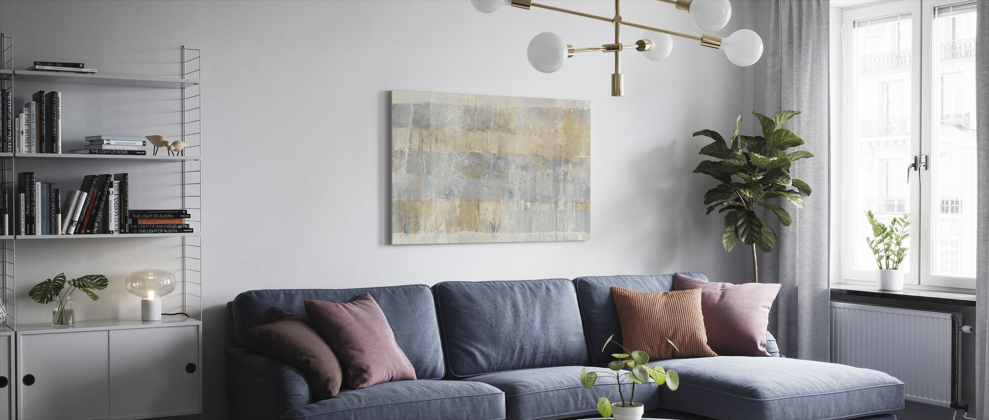 Climbing Up - Canvas print - Living Room