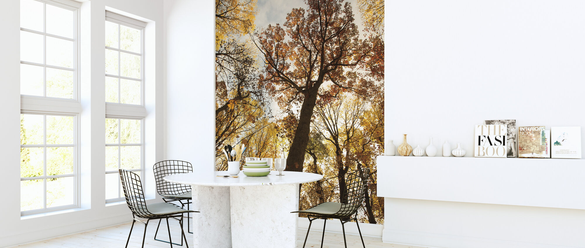 Towering Trees I - Wallpaper - Kitchen