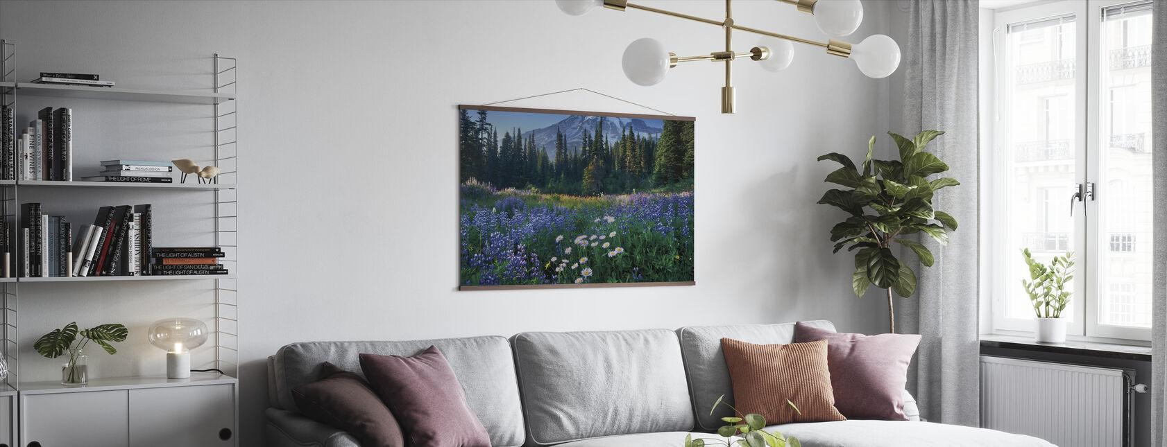 Mount Rainier - Plakat - Stue