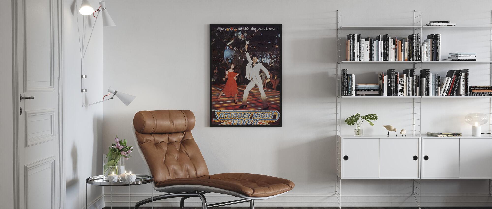 Saturday Night Fever - Framed print - Living Room