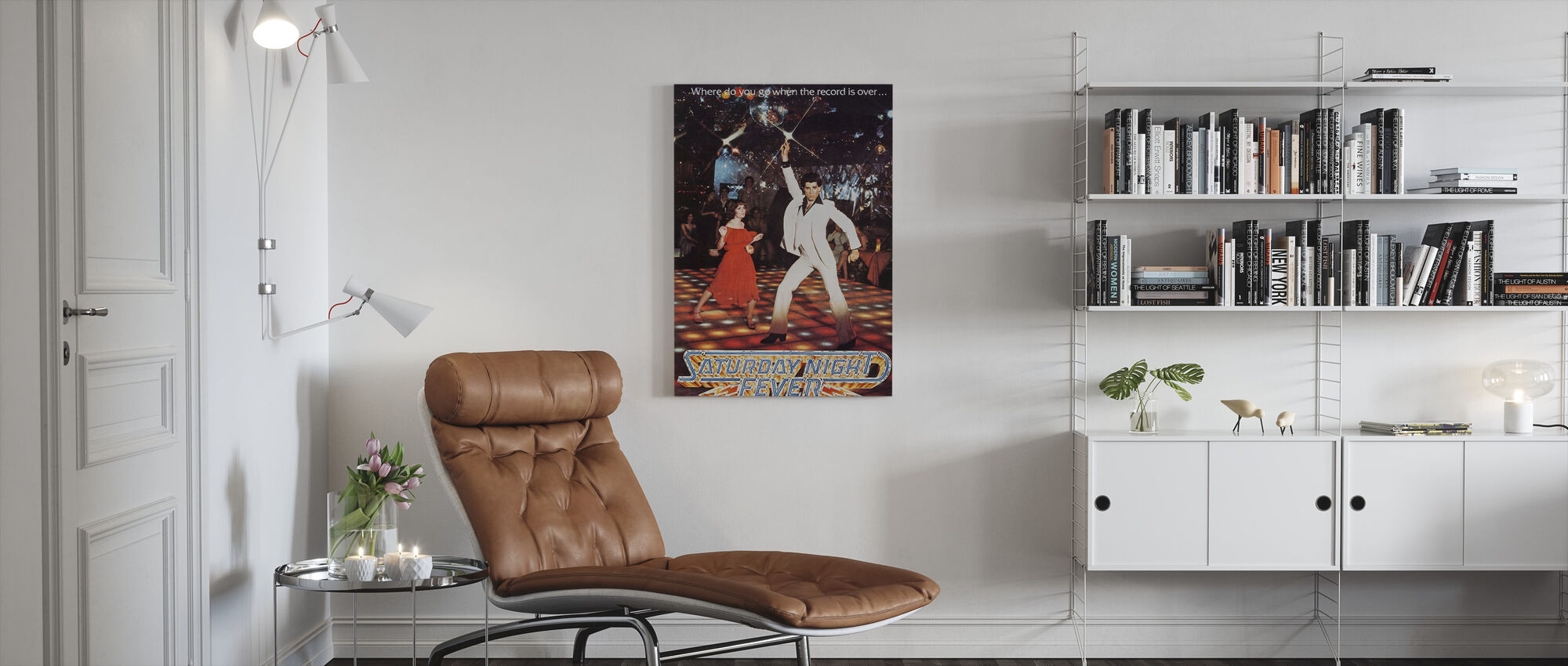Saturday Night Fever - Canvas print - Living Room