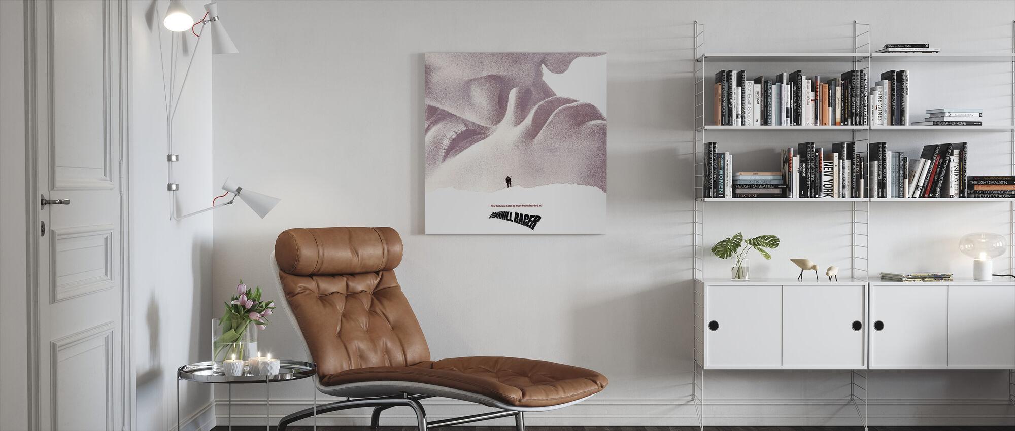Downhill Racer - Canvas print - Living Room