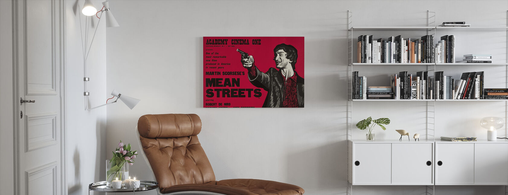 Mean Streets - Canvas print - Living Room