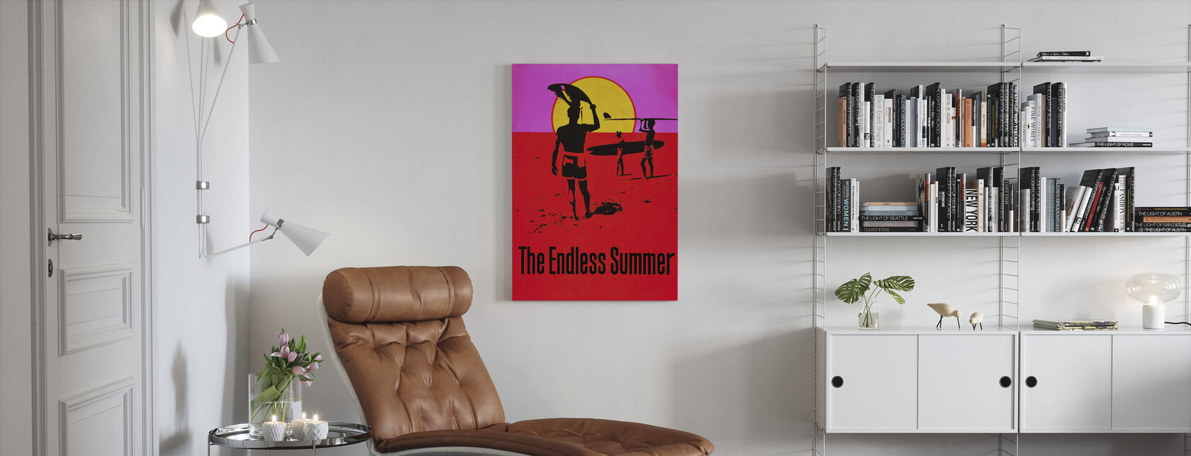 Endless Summer - Canvas print - Living Room