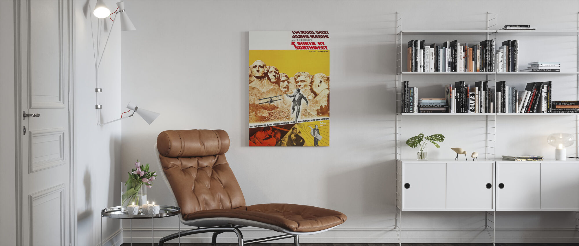 North by Northwest - Canvas print - Living Room