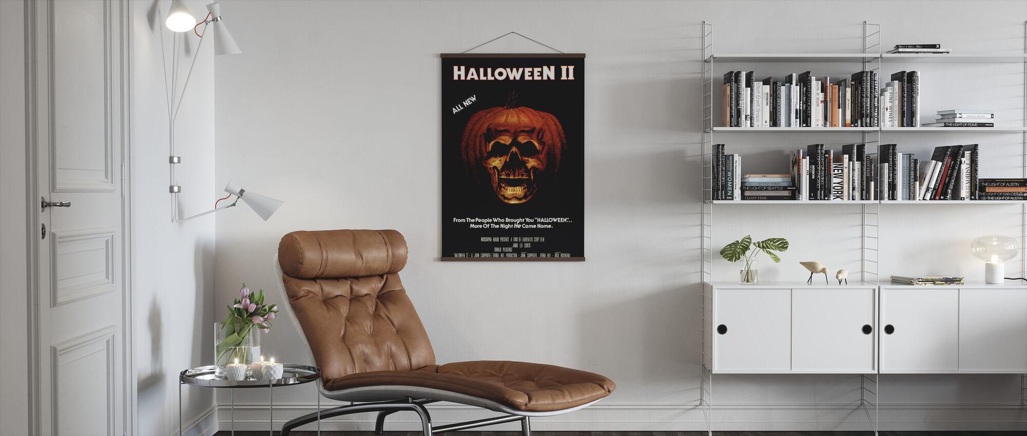 Halloween II - Poster - Living Room
